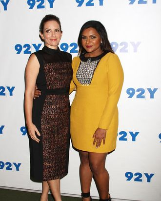 92nd Street Y Presents: Mindy Kaling In Conversation With Tina Fey