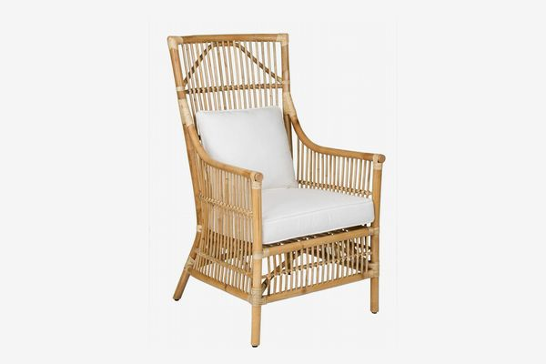 East at Main Franklin Rattan Occasional Chair