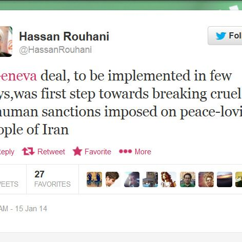 Iran Thinks Better Of World Surrender Tweet