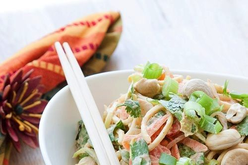 Raw pad Thai.