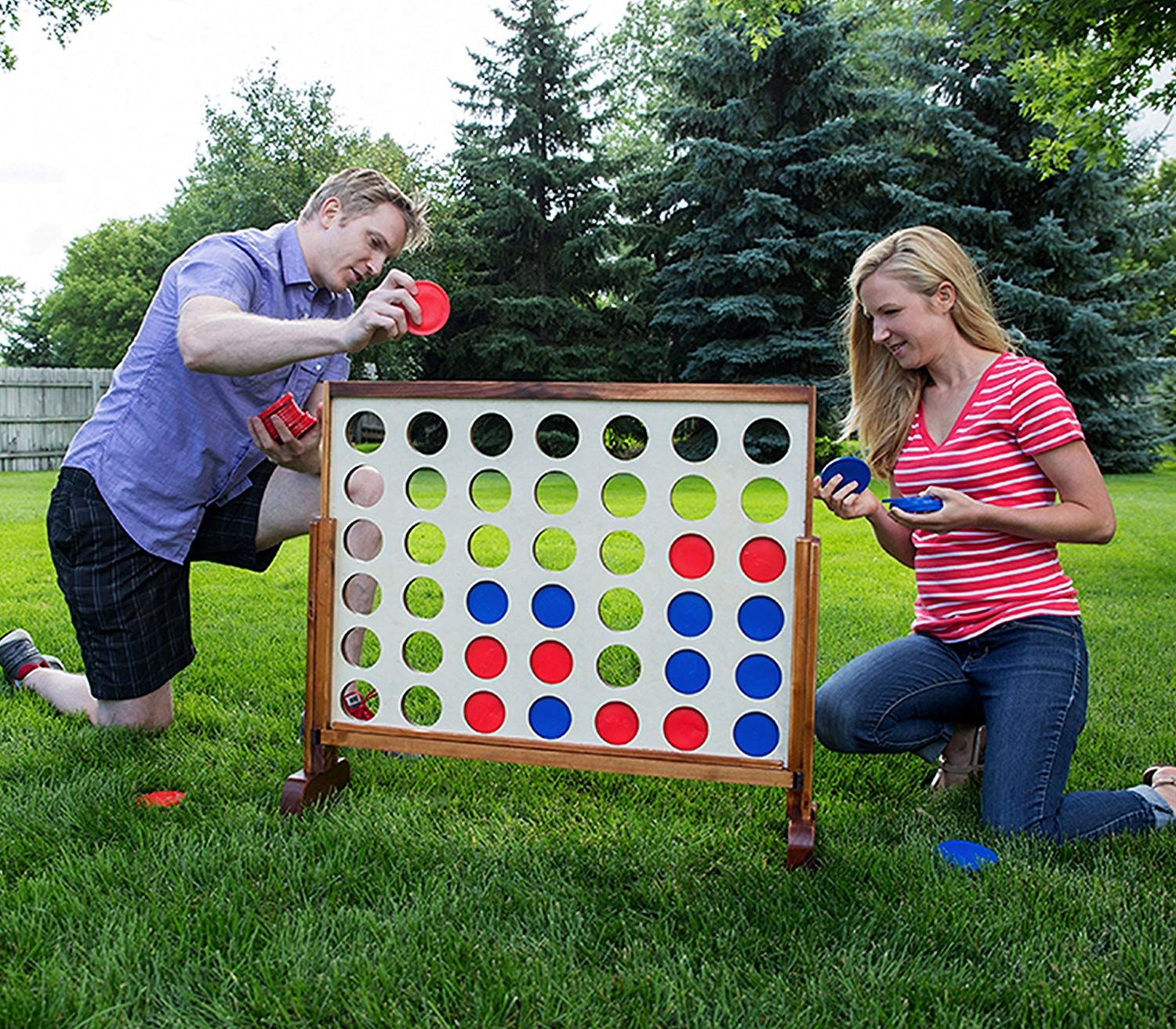 Yard Games Giant 4 Connect in a Row