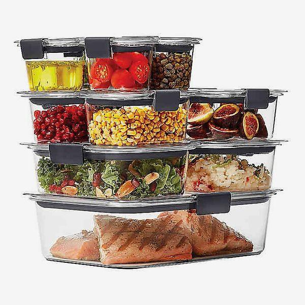 Rubbermaid® Brilliance 22-Piece Food-Storage-Container Set