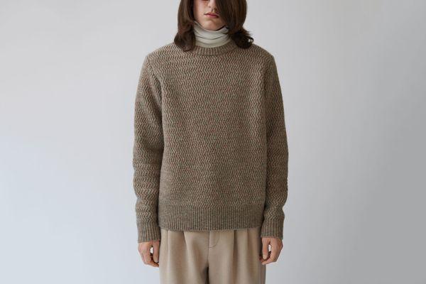 Nyle Herringbone Sweater