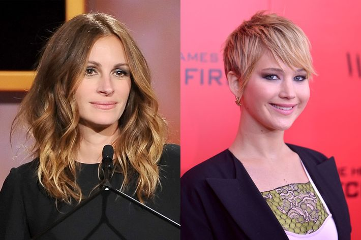 Julia Roberts Says Jennifer Lawrence Is Too Cool to Be Americas Sweetheart