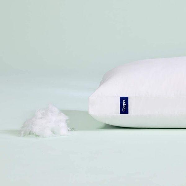Casper Sleep Pillow for Sleeping, Standard, White