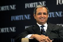 CEO of Citigroup Vikram Pandit speaks during the FORTUNE Breakfast & Conversation with Vikram Pandit, CEO, Citigroup at TIME Building