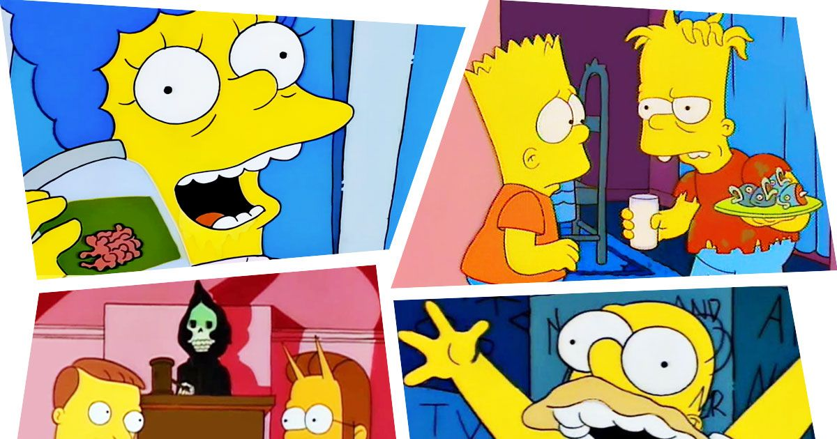 Every 'Simpsons' Treehouse of Horror Episode Segment, Ranked