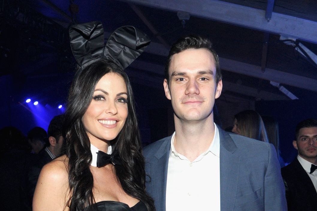 NEW YORK, NY - JANUARY 31: Cooper Hefner attends The Playboy Party at The Bud Light Hotel Lounge, on Friday, January 31, 2014 in New York City.  (Photo by Jamie McCarthy/Getty Images for Playboy)