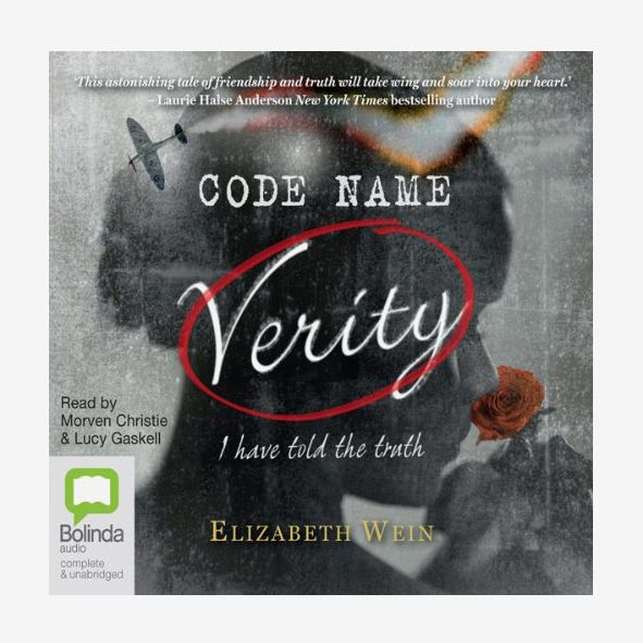 Code Name Verity, by Elizabeth Wein, read by Morven Christie and Lucy Gaskell