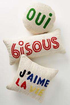 Clare V. for Anthropologie Maisonette Jute Pillow