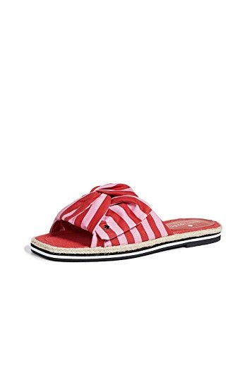 Kate Spade New York Caliana Striped Slides