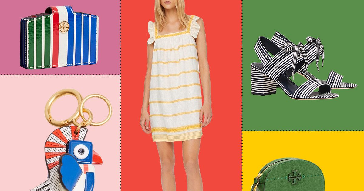 Lots of Extremely Summery Things from Tory Burch Are Up to 40 Percent Off