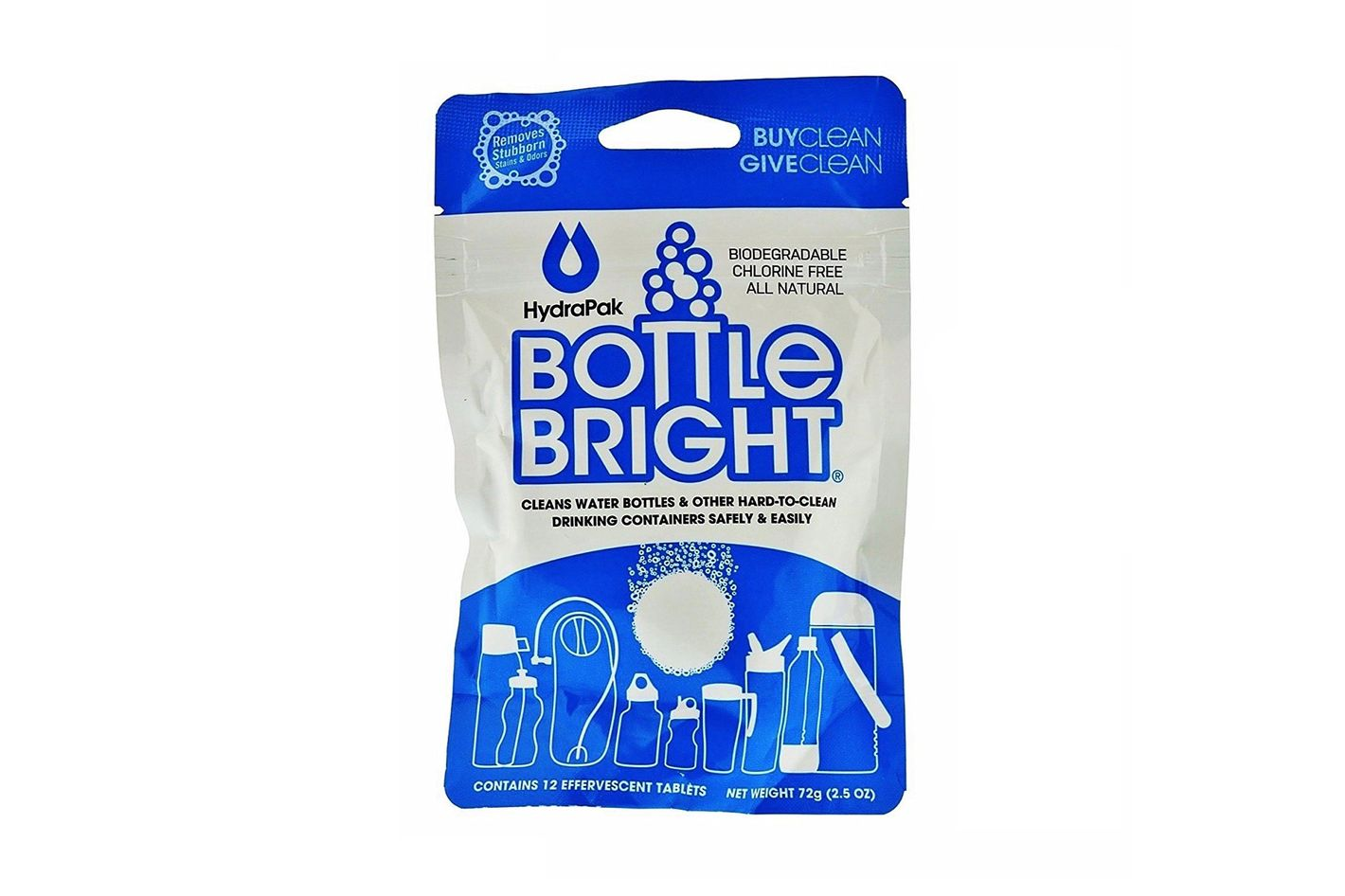 HYDRAPAK Bottle Bright 12 Tabs