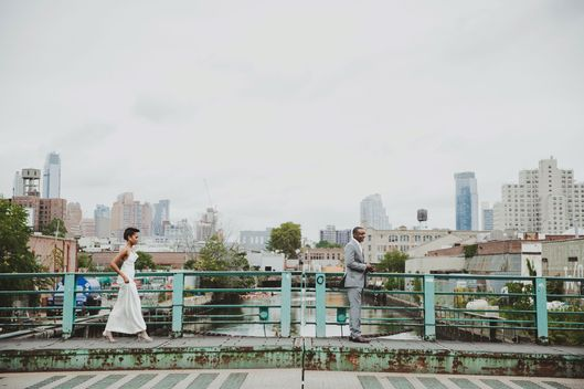 Nymag Real Weddings: Real Wedding Album: A Sit-down Brooklyn Barbecue -- The Cut