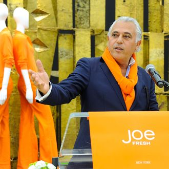 Joe Fresh designer Joseph Mimran speaks at the Joe Fresh Flagship Store opening on March 29, 2012 in New York City.