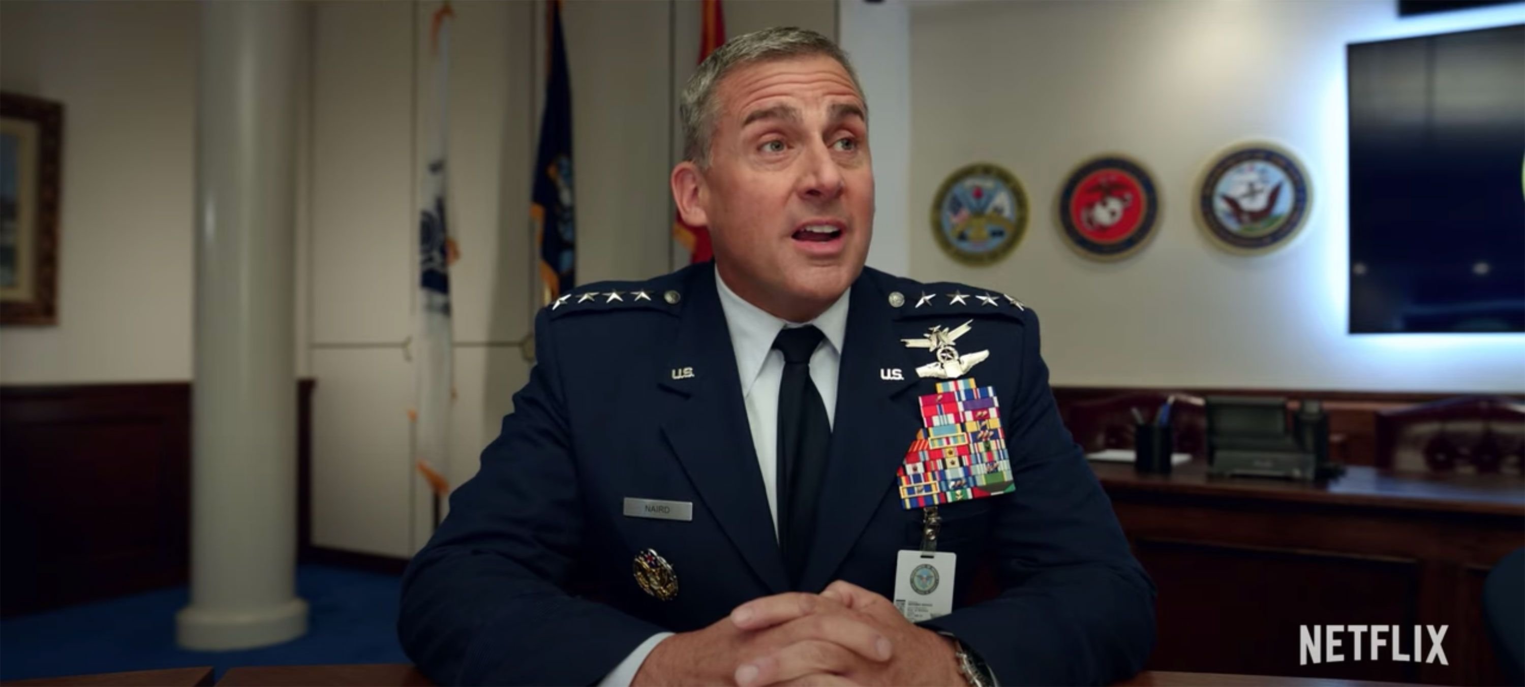 Netflix 'Space Force' Trailer 2020 With Steve Carell [WATCH]