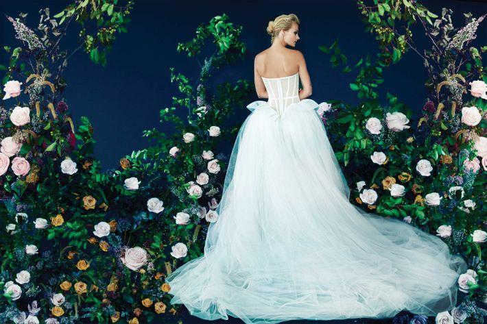 The Best Winter Wedding Dresses Have Details That Pop