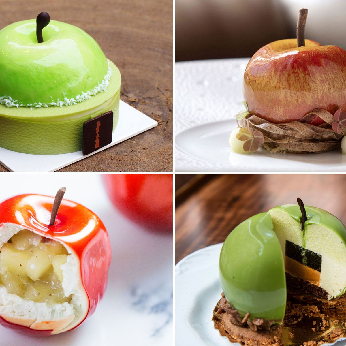 Why Pastry Chefs Are Obsessed With Trompe l'Oeil Apples