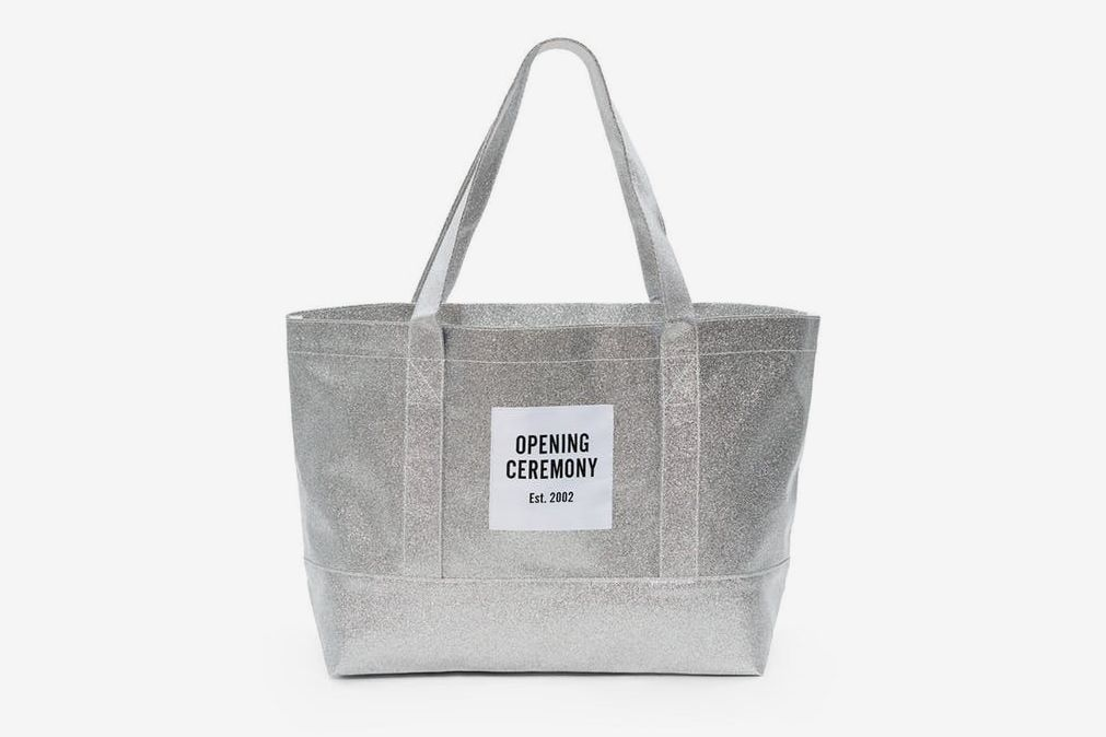Opening Ceremony Glitter Tote Bag