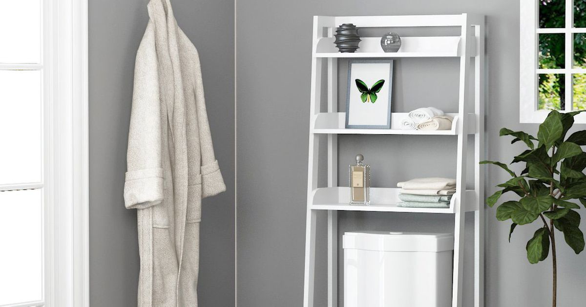 The Best Over-the-Toilet Storage, According to Amazon Reviews