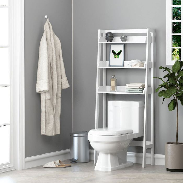 5 Best Over The Toilet Storage Ideas On