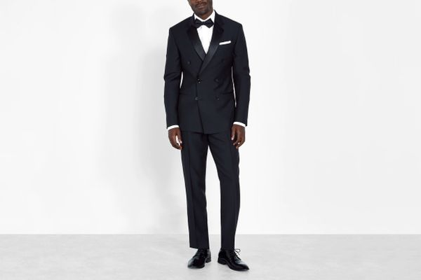 The Black Tux Double Breasted Tuxedo