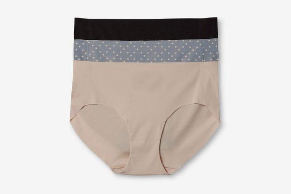 Hanes Premium Women's No Lines Microfiber Hipster Underwear 3-Pack