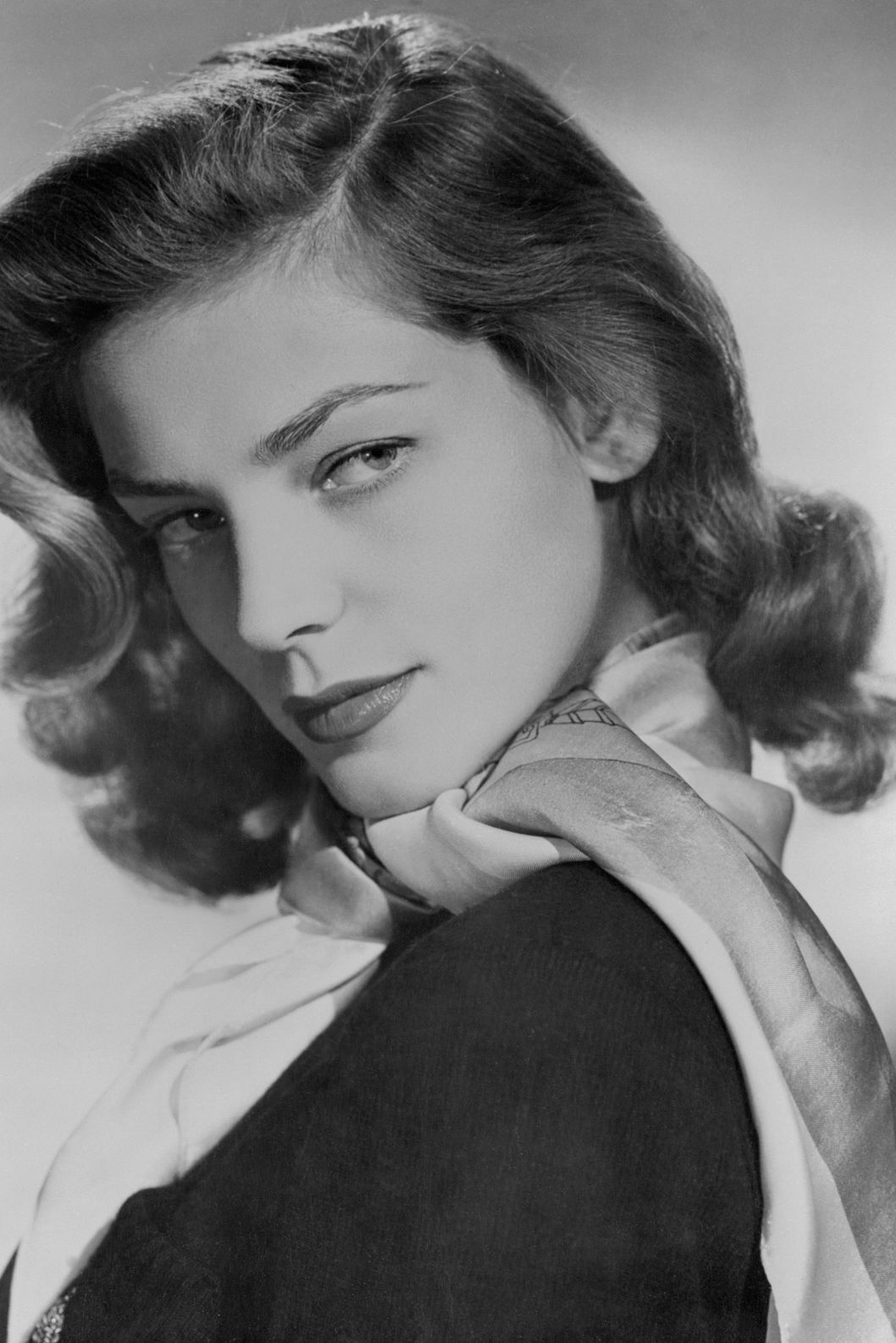 ca. 1950 --- Portrait of Lauren Bacall --- Image by ? Bettmann/CORBIS