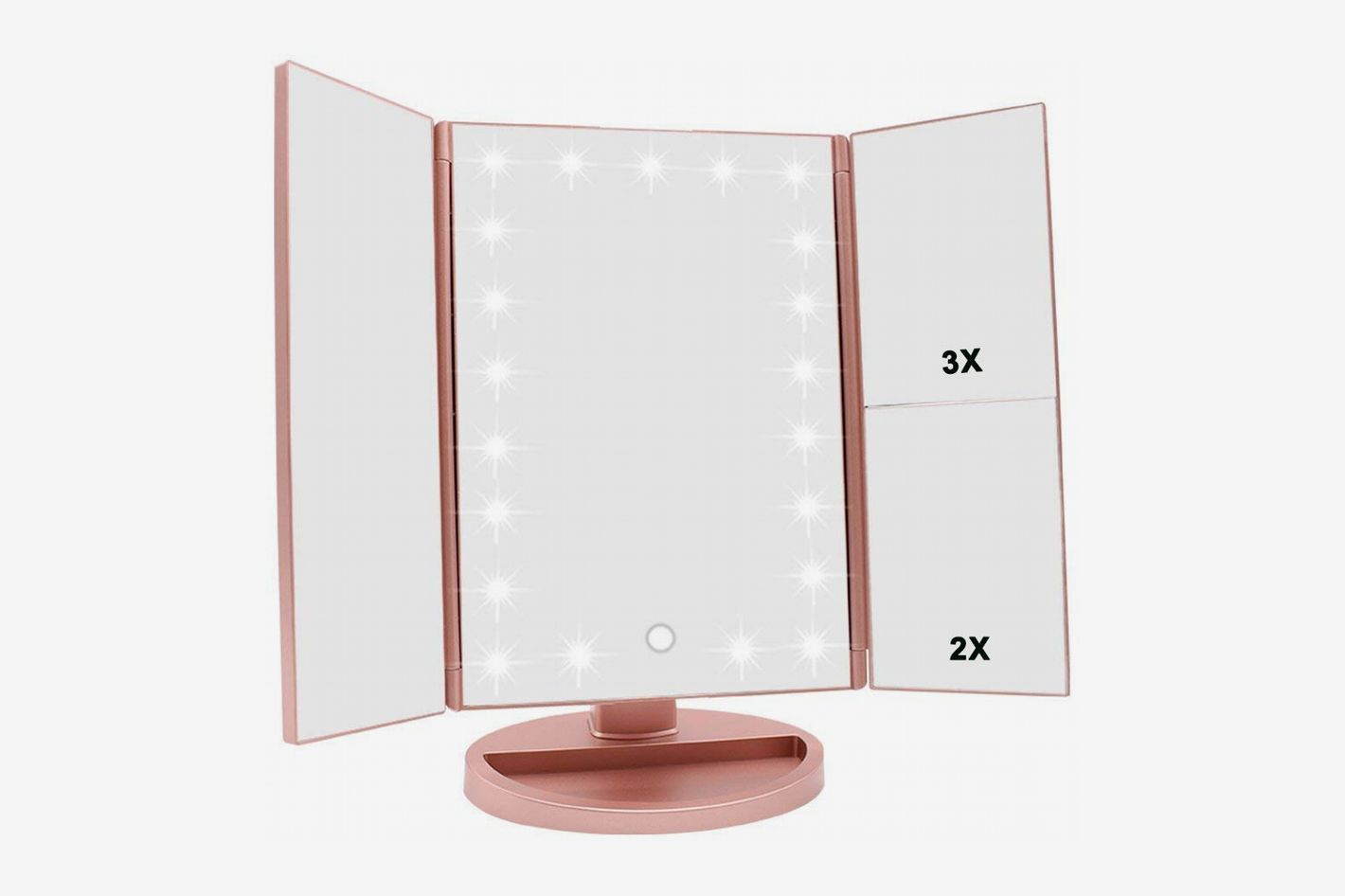 Lighted Handheld Makeup Mirror Saubhaya Makeup