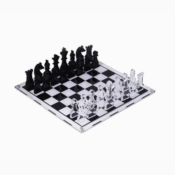 Bey-Berk Charlie Acrylic Chess Set