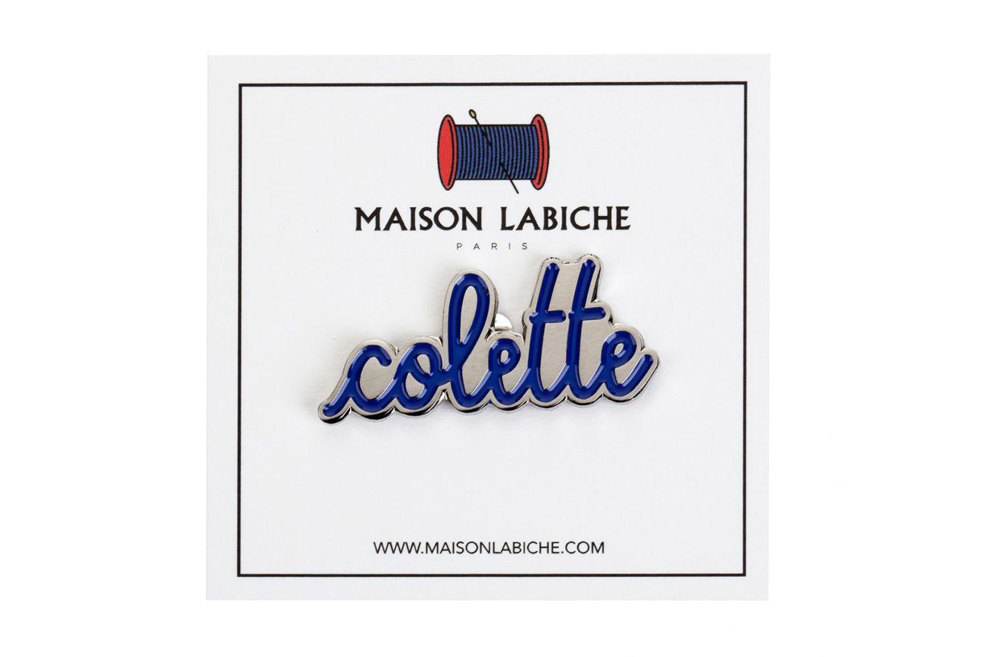 Maison Labiche x Colette Enamel Pin