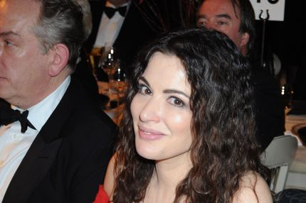 LONDON - NOVEMBER 18:  (EMBARGOED FOR PUBLICATION IN UK TABLOID NEWSPAPERS UNTIL 48 HOURS AFTER CREATE DATE AND TIME)  Nigella Lawson attends the Chaos Point Gala Dinner where Vivienne Westwood will present her Gold Label Collection in collaboration with the London Musici Orchestra in aid of the NSPCC, at The Banqueting House, Whitehall on November 18, 2008 in London, England.  (Photo by Dave M. Benett/Getty Images)