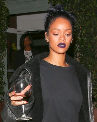 Rihanna and her best accessory.