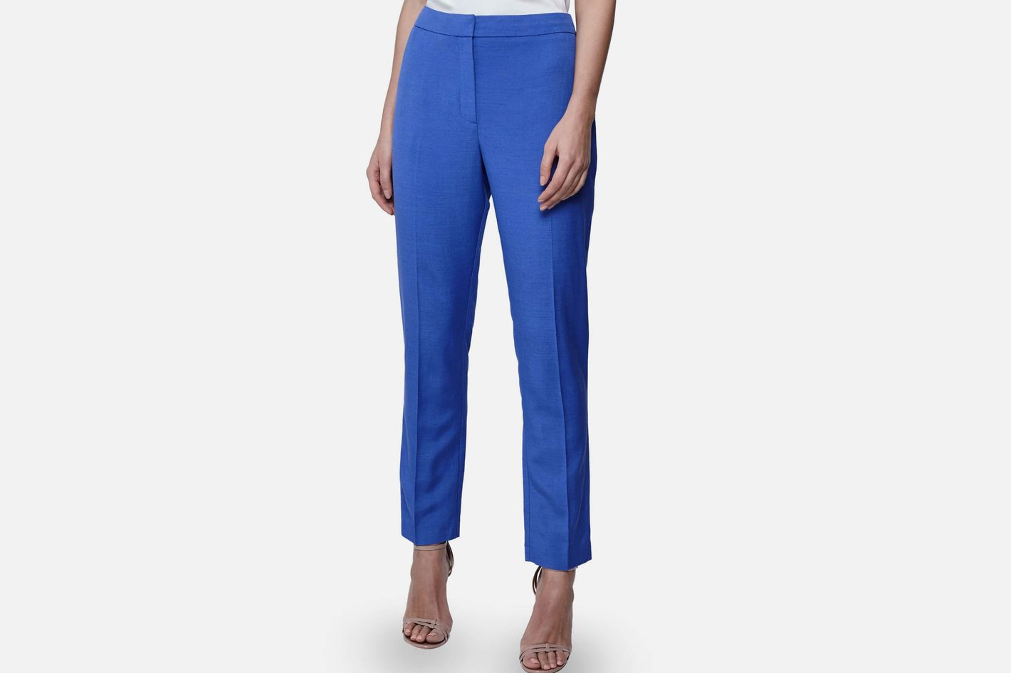 Reiss Haya Flat Front Trousers