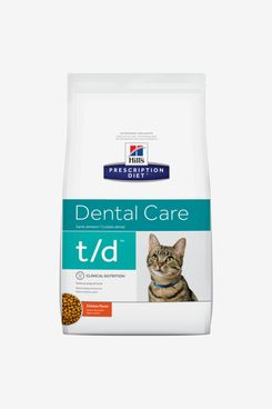 Hill's Prescription Diet t/d Dental Care Chicken Flavor Dry Cat Food