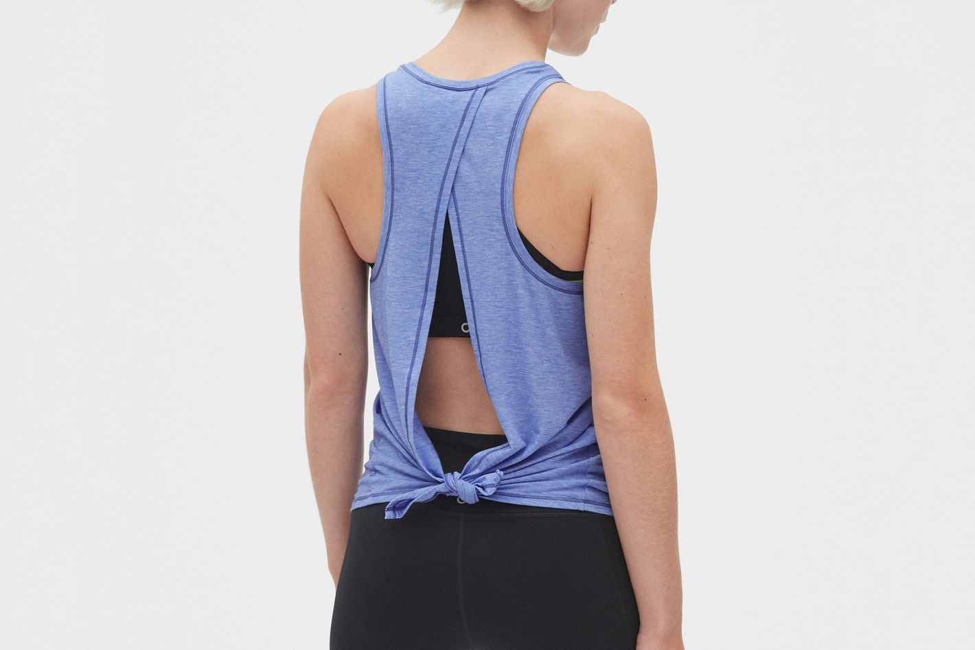 GapFit Breathe Open Back Tank