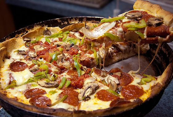 "<b>Chicago-Style Deep Dish</b>    <a href=""http://www.armandspizza.com/newsite/index.html"">Armand's Chicago Pizzeria</a>    <i>Washington, D.C.</i>  Are there a lot of transplanted Illinoisians in D.C.? (Besides the ones at 1600 Pennsylvania, we mean.) We suspect so, considering that the capital's best-known deep dish has won <i>Washingtonian</i> magazine's ""best pizza"" poll every year since Bill Clinton's first term. Ironically, one who isn't a transplanted Illinoisian is owner Lew Newmyer — he's from Atlantic City, but was converted to deep dish on his first visit to Chicago."