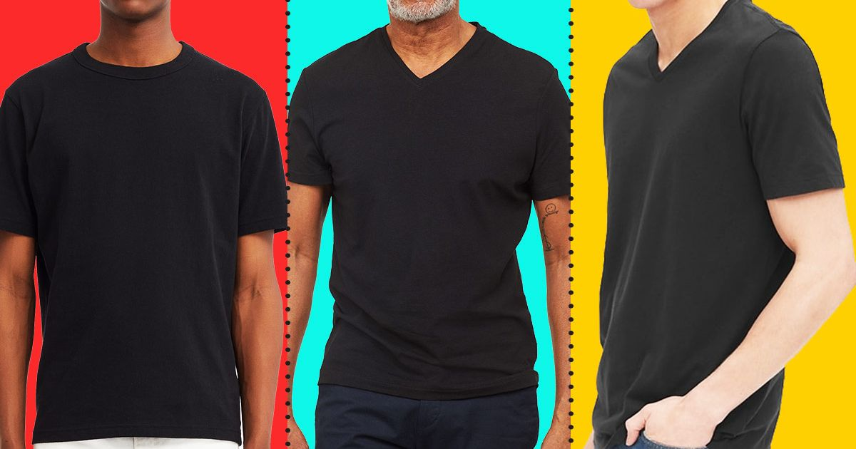 b5c8a0a44c 18 Best Black T-shirts for Men 2019