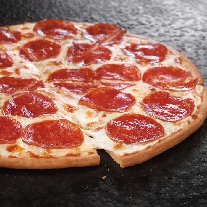 Greasy pepperoni for all, hurray.