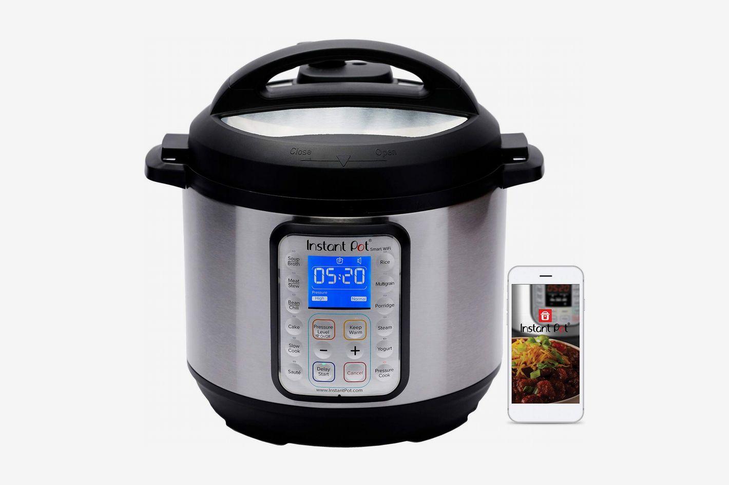 Instant Pot Smart WiFi 6-Quart Multi-Use Electric Pressure Cooker