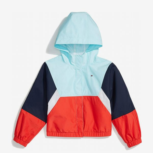 Tommy Hilfiger Adaptive Girls Jacket With Magnetic Front Closure Buttons