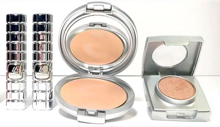 Lindsay Lohan's makeup line