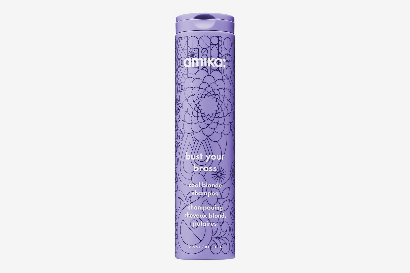 Amika Bust Your Brass Cool Blonde Shampoo