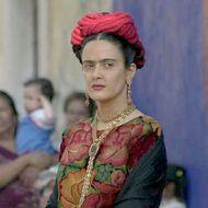 """Salma Hayek On The Set Of the Film """"Frida Kahlo"""""""