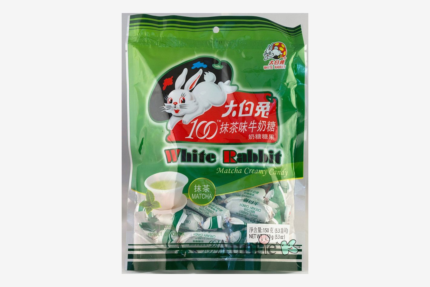 White Rabbit Green Tea Matcha Milk Creamy Candy