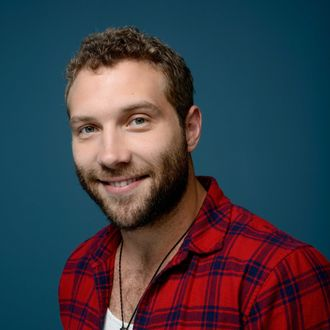 Actor Jai Courtney of 'Felony' poses at the Guess Portrait Studio during 2013 Toronto International Film Festival on September 10, 2013 in Toronto, Canada.