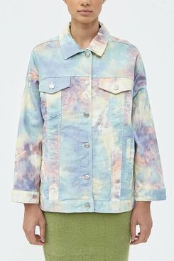 Which We Want Ines Tie Dye Jacket at Need Supply Co.