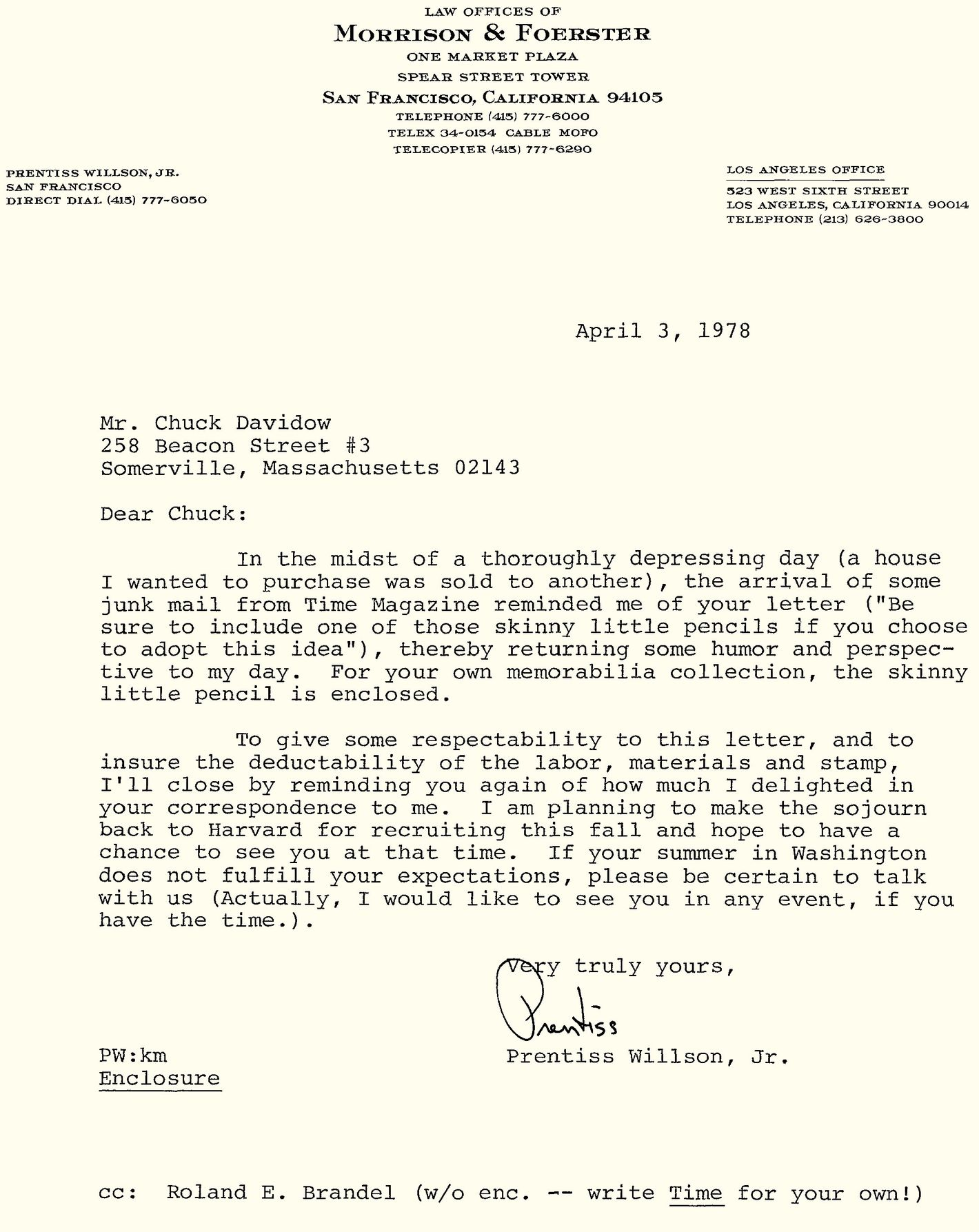Read a Rejection Letter Reply So Brilliant, It Got Him Hired