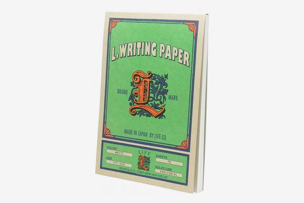 Life L. Writing Paper Pad
