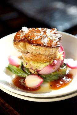 Foie gras at Casa Mono